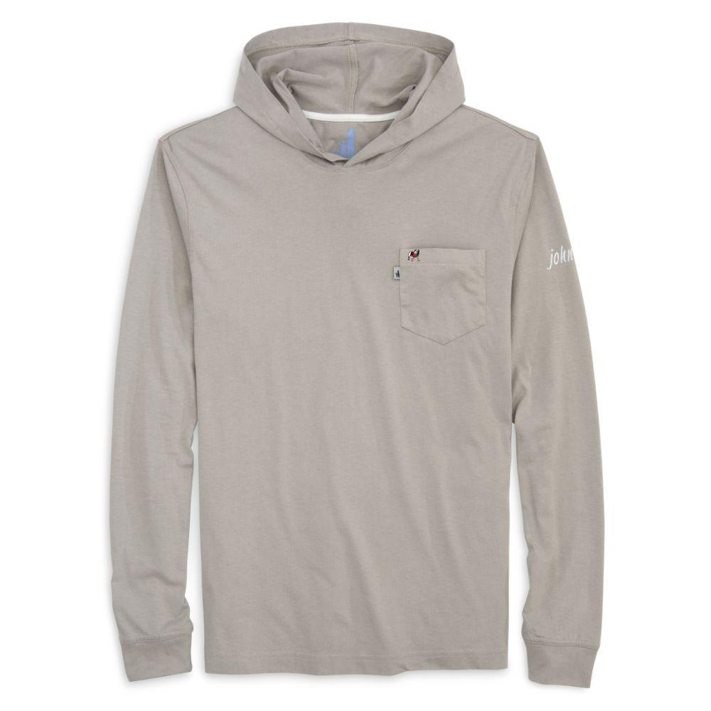 Georgia Johnnie- O Men's Eller Long Sleeve Hooded Tee