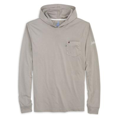 Georgia Johnnie-O Men's Eller Long Sleeve Hooded Tee