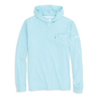 UNC Johnnie-O Men's Eller Long Sleeve Hooded Tee