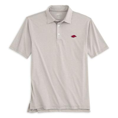 Arkansas Johnnie-O Men's Lyndon Polo