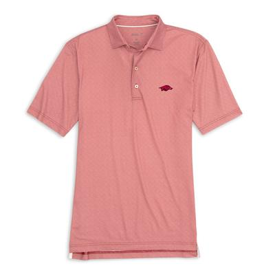 Arkansas Johnnie-O Men's Brickyard Polo