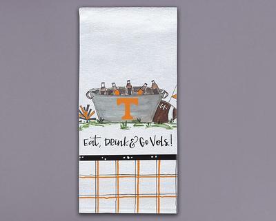 Tennessee Magnolia Lane Eat, Drink, Go Vols Hand Towel