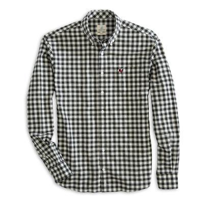Georgia Johnnie-O Men's Watts Long Sleeve Woven Button-Up