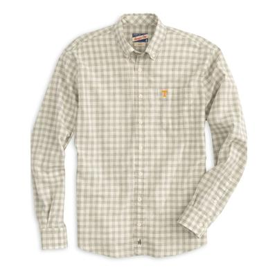 Tennessee Johnnie-O Men's Watts Long Sleeve Woven Button-Up