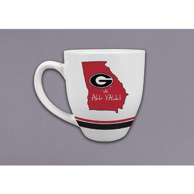 Georgia Magnolia Lane 16 oz. State Mug