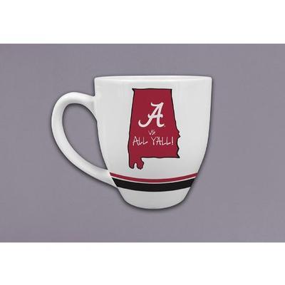 Alabama Magnolia Lane 16 oz. State Mug