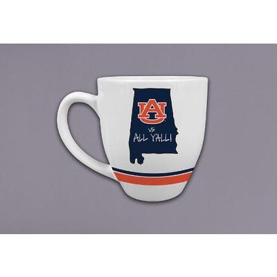 Auburn Magnolia Lane 16 oz. State Mug