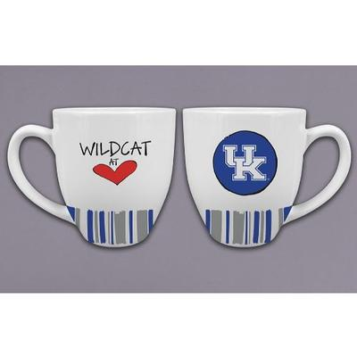 Kentucky Magnolia Lane 16 oz Heart Mug