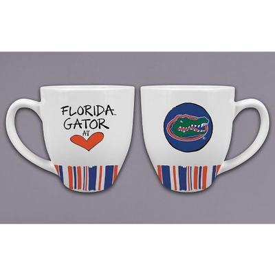 Florida Magnolia Lane 16 oz Heart Mug