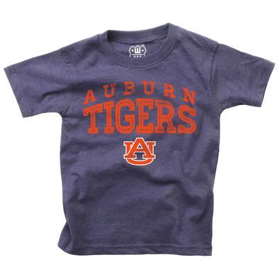 Auburn Boy's Inline Arched Short Sleeve Tee