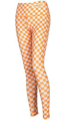 Tennessee YOUTH Zoozatz Spirit Checkerboard Leggings