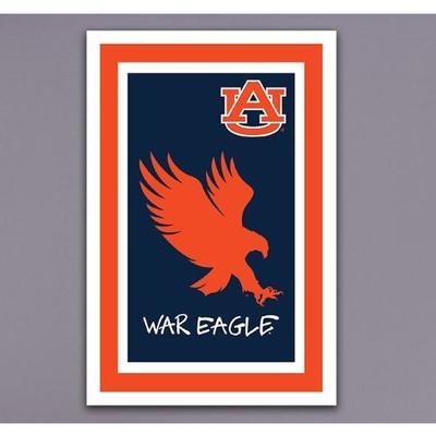 Auburn War Eagle Garden Flag