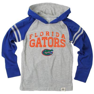 Florida Boy's Inline Arched Long Sleeve Hooded Raglan