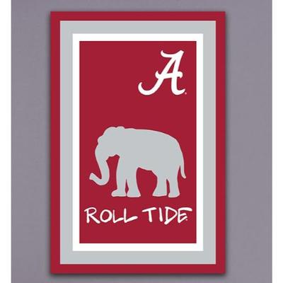 Alabama Roll Tide Garden Flag