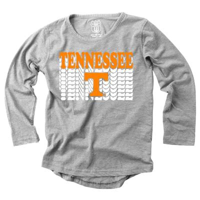 Tennessee Girl's Burnout Long Sleeve Tee