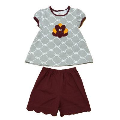Gobbler Toddler Girls Shirt/Short Set