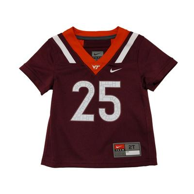 Virginia Tech Nike Toddler Replica Football Jersey