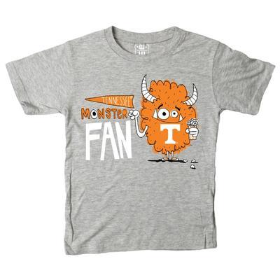 Tennessee Toddler Monster Fan Short Sleeve Tee