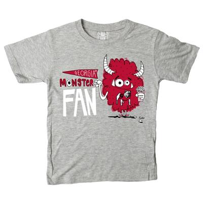 Georgia Toddler Monster Fan Short Sleeve Tee
