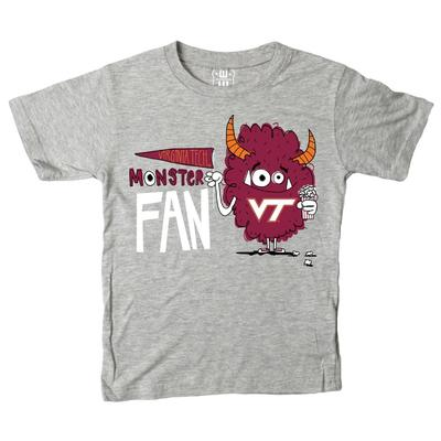 Virginia Tech Toddler Monster Fan Short Sleeve Tee