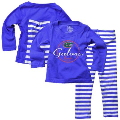 Florida Infant Long Sleeve Stripe Top and Leggings Set