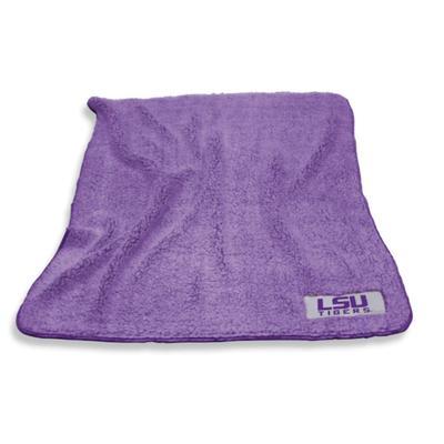 LSU Frosty Fleece Blanket