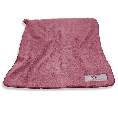 Virginia Tech Frosty Fleece Blanket