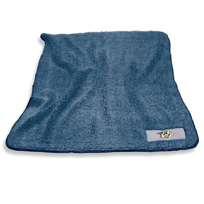 Nashville Predators Frosty Fleece Blanket