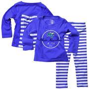 Mtsu Infant Long Sleeve Stripe Top And Leggings Set