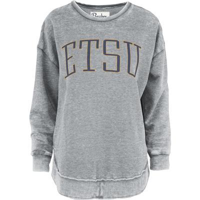 ETSU Pressbox Bell Lap Vintage Wash Sweater