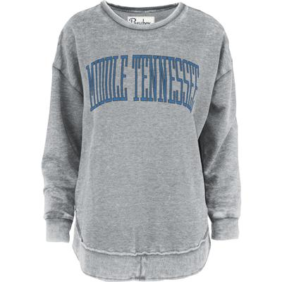 MTSU Pressbox Bell Lap Vintage Wash Sweater