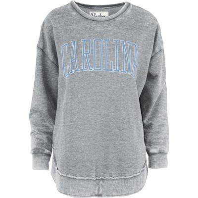 UNC Pressbox Bell Lap Vintage Wash Sweater