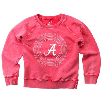 Alabama Girl's Faded Fleece Crew