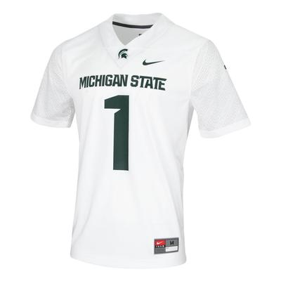 Michigan State Nike #1 Replica Football Jersey