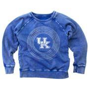 Kentucky Girl's Faded Fleece Crew