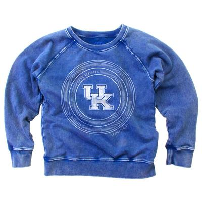 Kentucky Girl's Faded Fleece Crew