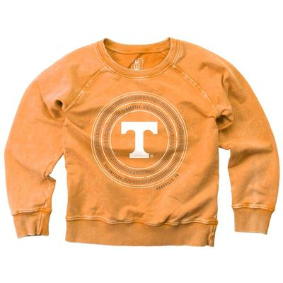 Tennessee Girl's Faded Fleece Crew
