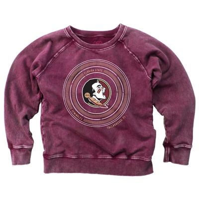 Florida State Youth Faded Fleece Crew