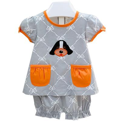 Ishtex Infant Tee and Bloomer Set