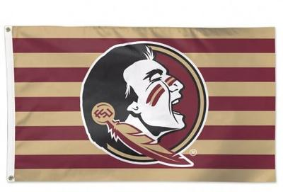 Florida State Striped 3' x 5' Flag