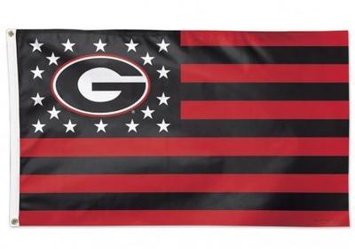 Georgia Stars and Bars 3' x 5' Flag
