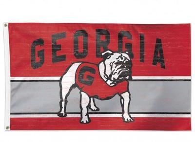 Georgia Standing Bulldog 3' x 5' Flag