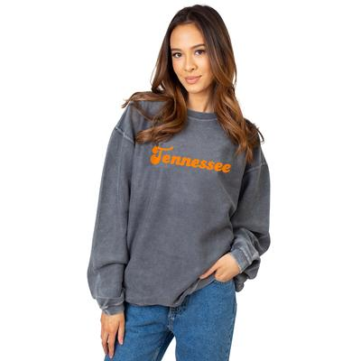 Tennessee Chicka-D Women's Vintage Script Corded Sweatshirt