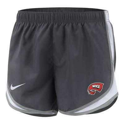 Western Kentucky Nike Women's Tempo Shorts ANTH/PLAT/WHT
