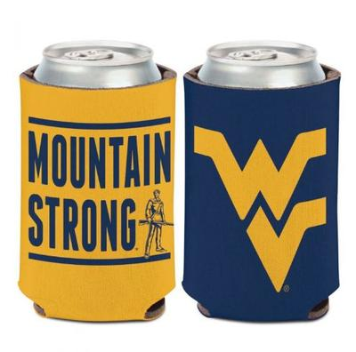 West Virginia Mountain Strong 12 oz. Can Cooler