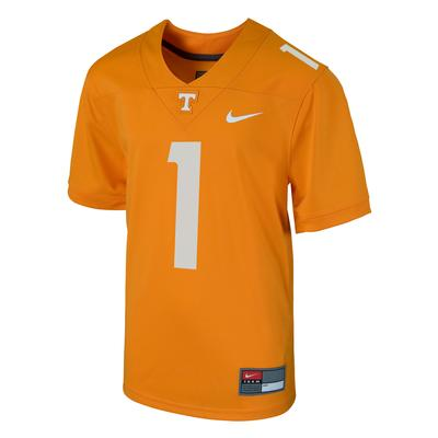 Tennessee Nike Kids #1 Replica Football Jersey