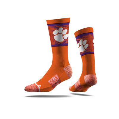 Clemson Strideline Classic Crew Socks