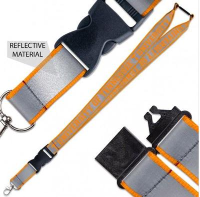 Tennessee Reflective Lanyard