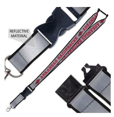 Arkansas Reflective Lanyard