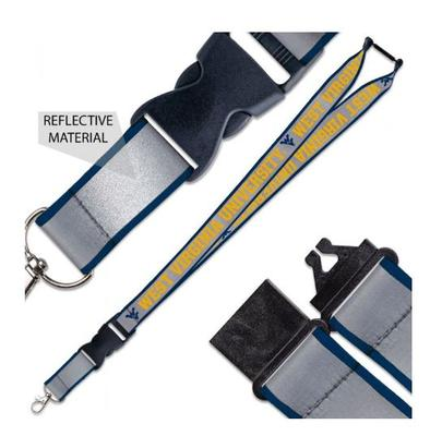 West Virginia Reflective Lanyard